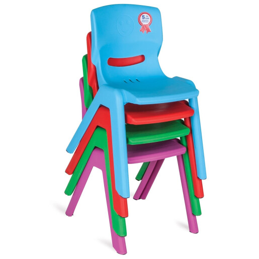 Scaun pentru copii Pilsan HAPPY CHAIR Rosu