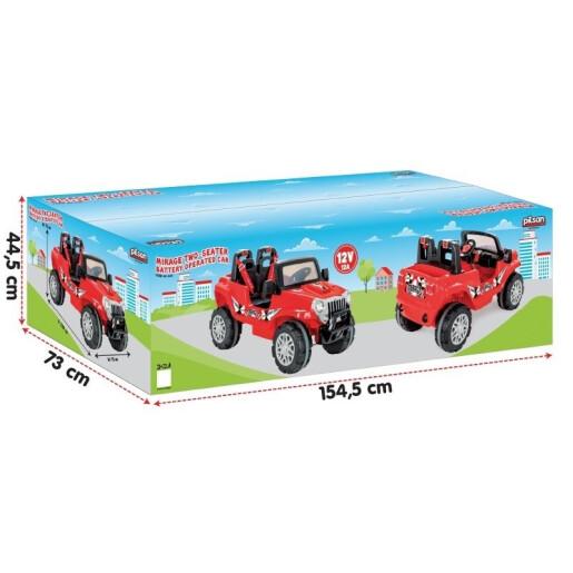 Jeep electric cu doua locuri Pilsan MIRAGE 12V