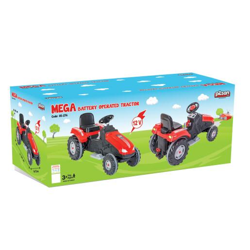 Tractor electric Pilsan MEGA 12V Rosu