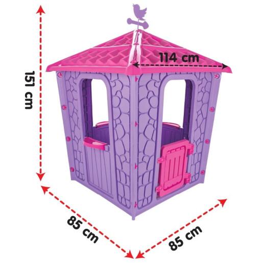 Casuta de exterior Pilsan STONE HOUSE Albastra