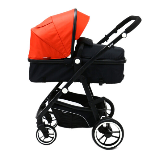 Carucior 3 in 1 Asalvo CONVERTIBLE TWO+ Red