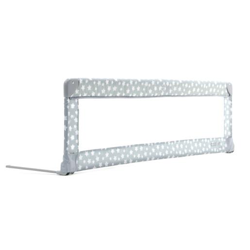 Balustrada de protectie pentru pat Asalvo BED RAIL 150 cm Stars Grey
