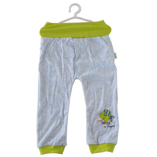 Pantaloni bumbac 100% Bamar-Nicol 13604 A marimea 86 gri