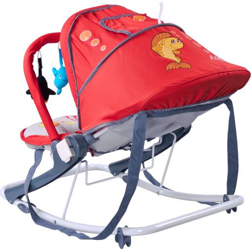 Sezlong pentru bebelusi Caretero AQUA Red