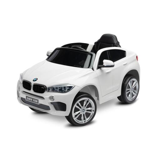 Masinuta electrica cu telecomanda Toyz BMW X6 M 12V Alba