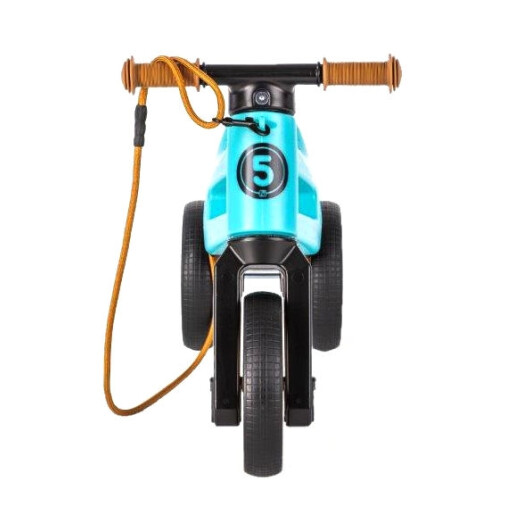 Bicicleta fara pedale Funny Wheels Rider SuperSport 2 in 1 Aqua