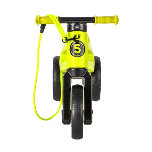 Bicicleta fara pedale Funny Wheels Rider SuperSport 2 in 1 Lime