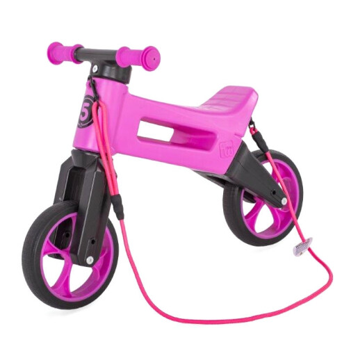 Bicicleta fara pedale Funny Wheels Rider SuperSport 2 in 1 Violet