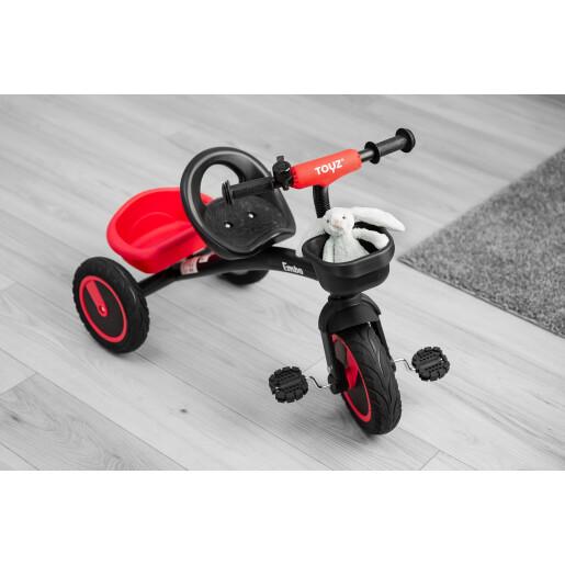Tricicleta pentru copii Toyz EMBO Rosie
