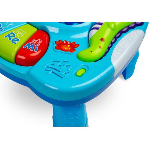 Masuta interactiva cu melodii Toyz FALLA Albastra