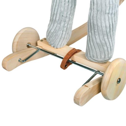 Balansoar cu roti si melodii PlayTo Ponei Gri