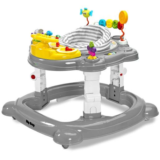 Premergator bebelusi Toyz HIP HOP 360 Graphite