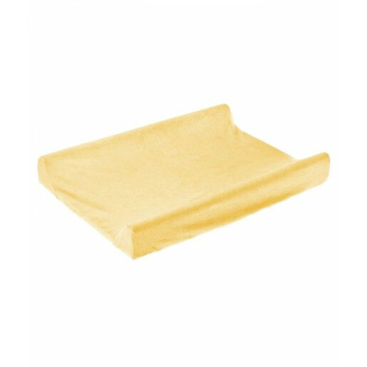 Husa de bumbac 100% pentru salteaua de infasat 70x50 cm Yellow