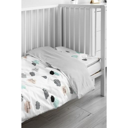 Set lenjerie de pat cu 2 piese Sensillo Nori