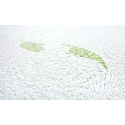 Saltea Sensillo MEMORY TERMO Cocos-Spuma-Cocos cu Aloe Vera 120x60x12 cm