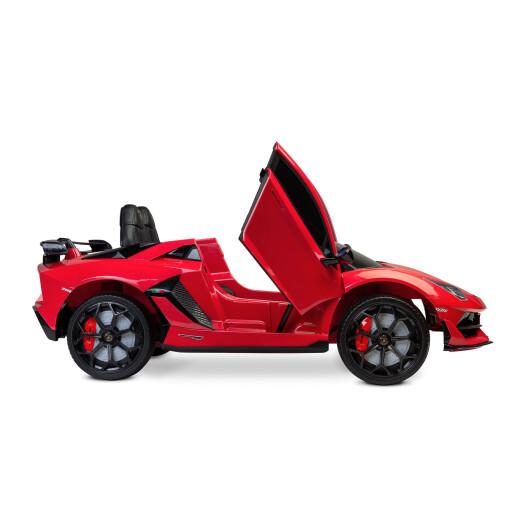 Masinuta electrica cu telecomanda Toyz Lamborghini Aventador SVJ 12V Red