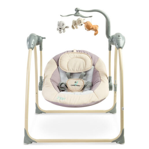 Leagan electric cu telecomanda Caretero LOOP Beige (Resigilat)