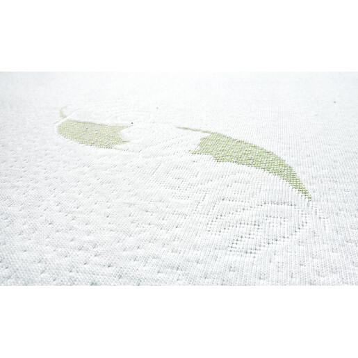 Saltea Sensillo LUXE Cocos-Spuma-Cocos 120x60x11 cm cu Aloe Vera