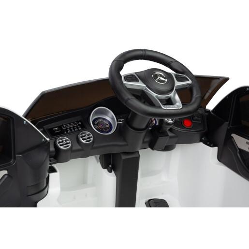 Masinuta electrica cu telecomanda MERCEDES AMG GLC 63S Alba