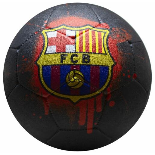 Minge de fotbal FC Barcelona Streetball LOGO GRAFITTI neagra marimea 5