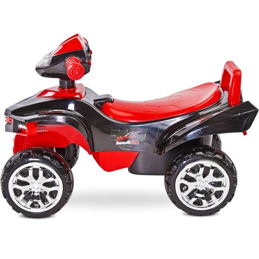 Jucarie ride-on cu sunete si lumini Toyz MINI RAPTOR 2 in 1 Rosie