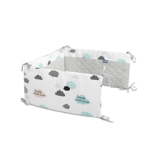 Protectie interioara de plus patut Sensillo KARO 180x30 cm Nori