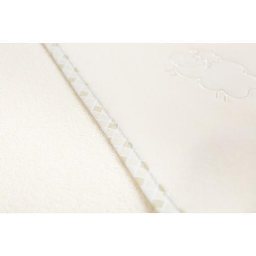 Prosop cu gluga Sensillo SHEEP 80x80 cm Beige