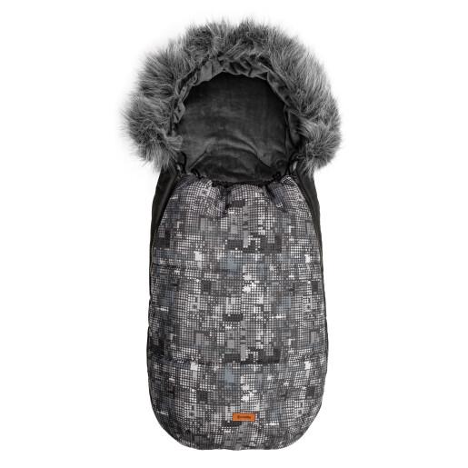 Sac de iarna Sensillo OLAF Fleece 100x45 cm Grafit