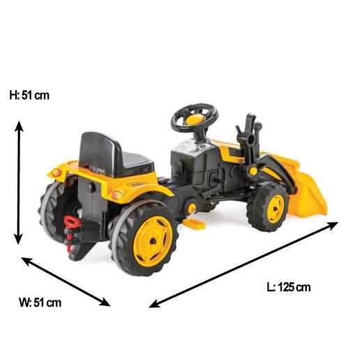 Excavator cu pedale si cupa Pilsan ACTIVE