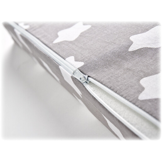 Husa pentru perna Sensillo 30x38 cm Stelute Gri