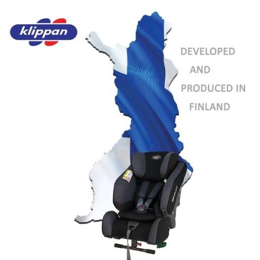 Scaun auto Klippan OPTI129 i-Size Rearfacing 125 cm/32 Kg Sport
