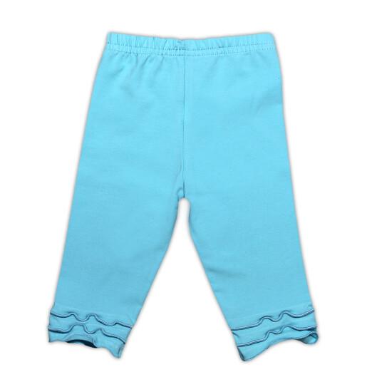 Pantaloni 3/4 bumbac 95% Bamar-Nicol 110191 marimea 80 turcoaz