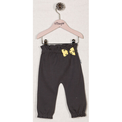 Pantaloni bumbac 95% Bamar-Nicol 13304 marimea 74 gri inchis