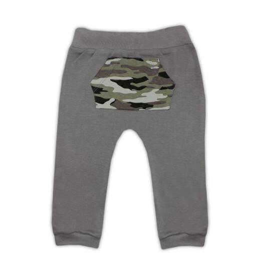 Pantaloni bumbac 100% Bamar-Nicol 14604 marimea 56 gri inchis