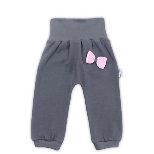 Pantaloni bumbac 95% Bamar-Nicol 14404 marimea 68 gri inchis