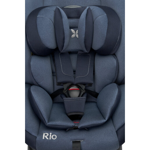 Scaun auto rotativ Caretero RIO i-Size (40-105 cm) 0-22 Kg Albastru