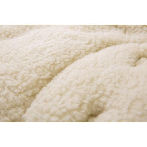 Sac de iarna Sensillo lana Graphite 95x40 cm