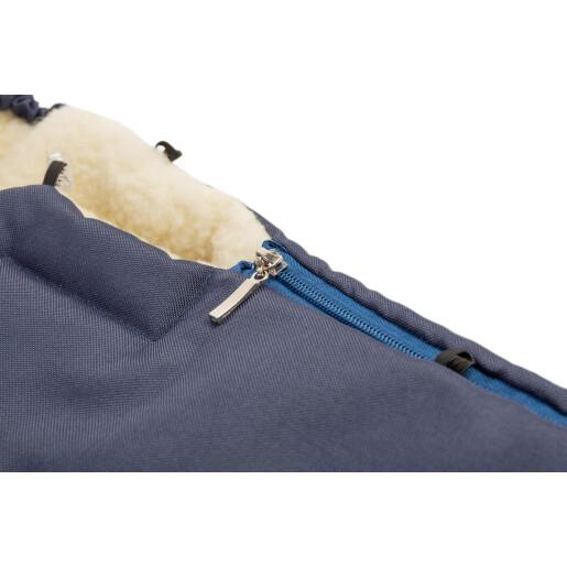 Sac de iarna Sensillo lana Navy 95x40 cm