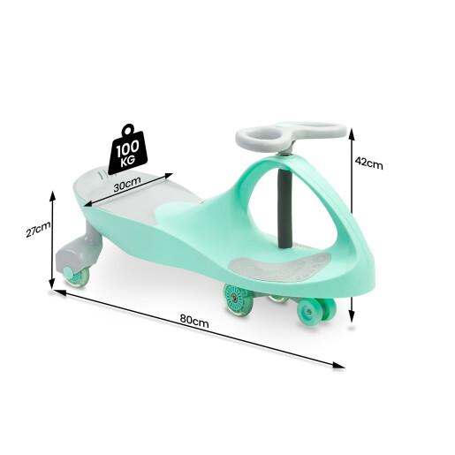 Vehicul fara pedale pentru copii Toyz SPINNER Mint