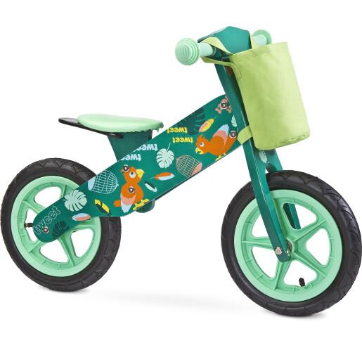 Bicicleta fara pedale Toyz ZAP Green