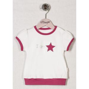 Bluza bumbac 100% Bamar-Nicol STAR 13422 marimea 80 alba
