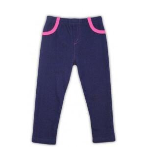 Pantaloni bumbac 70% Bamar-Nicol 14320 A marimea 74 bluemarin