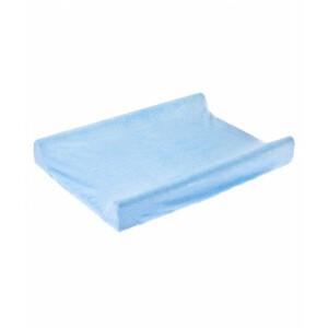 Husa de bumbac 100% pentru salteaua de infasat 70x50 cm Blue