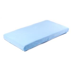 Cearsaf de bumbac jersey cu elastic Sensillo 140x70 cm Albastru