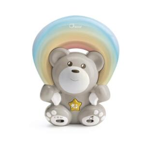 Proiector cu melodii Chicco Rainbow Bear Maro