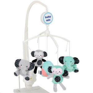 Carusel cu melodii Baby Mix ZOO