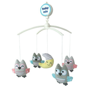 Carusel cu melodii Baby Mix OWLS