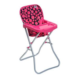Scaun de masa pentru papusi PlayTo Dorotka Roz