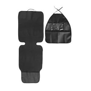 Set protectie bancheta si organizator scaun auto Caretero