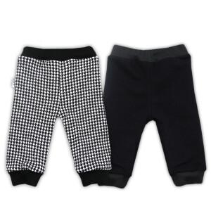 Pantaloni cu doua fete bumbac 100% Bamar-Nicol 14538 C marimea 68 negru